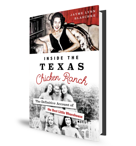 Inside the Texas Chicken Ranch - Book Cover