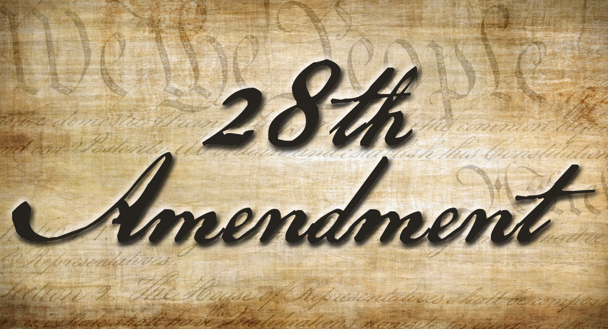 28th Amendment Banner - MHagerty