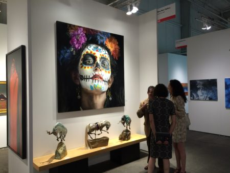 Scene from 2016 Houston Art Fair