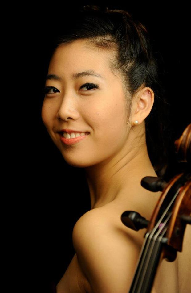 Christine J. Lee, cello player