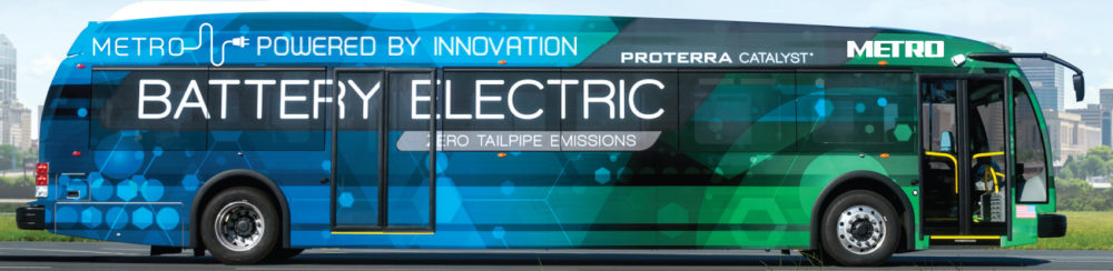 The electric bus will get a test run on the #63 Fondren route starting in December.