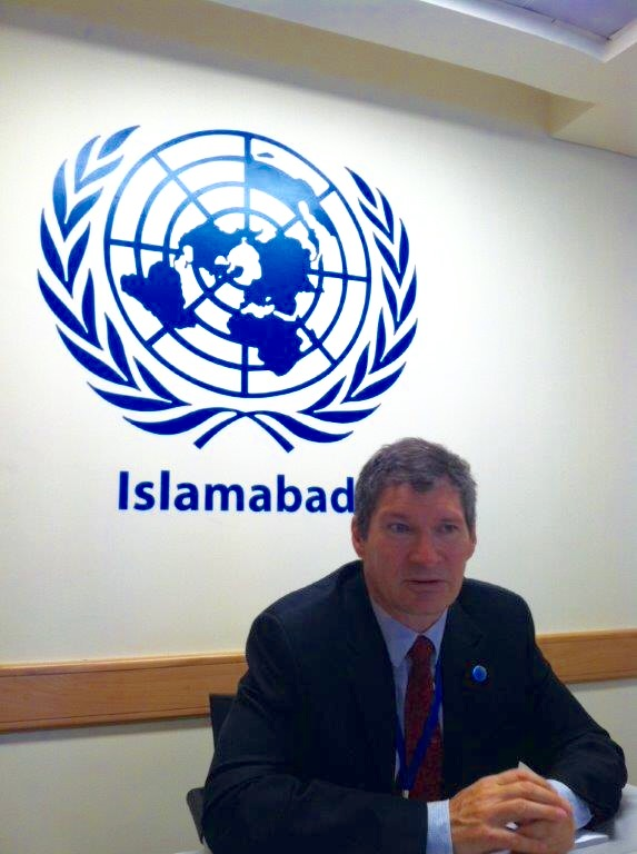 Neil Buhne is the United Nations Resident Coordinator and Humanitarian Coordinator. He's served in this position for the last year.