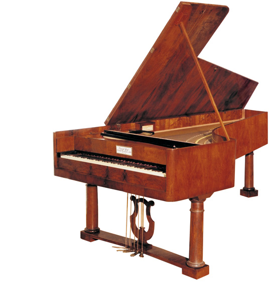 1826 piano by Conrad Graf