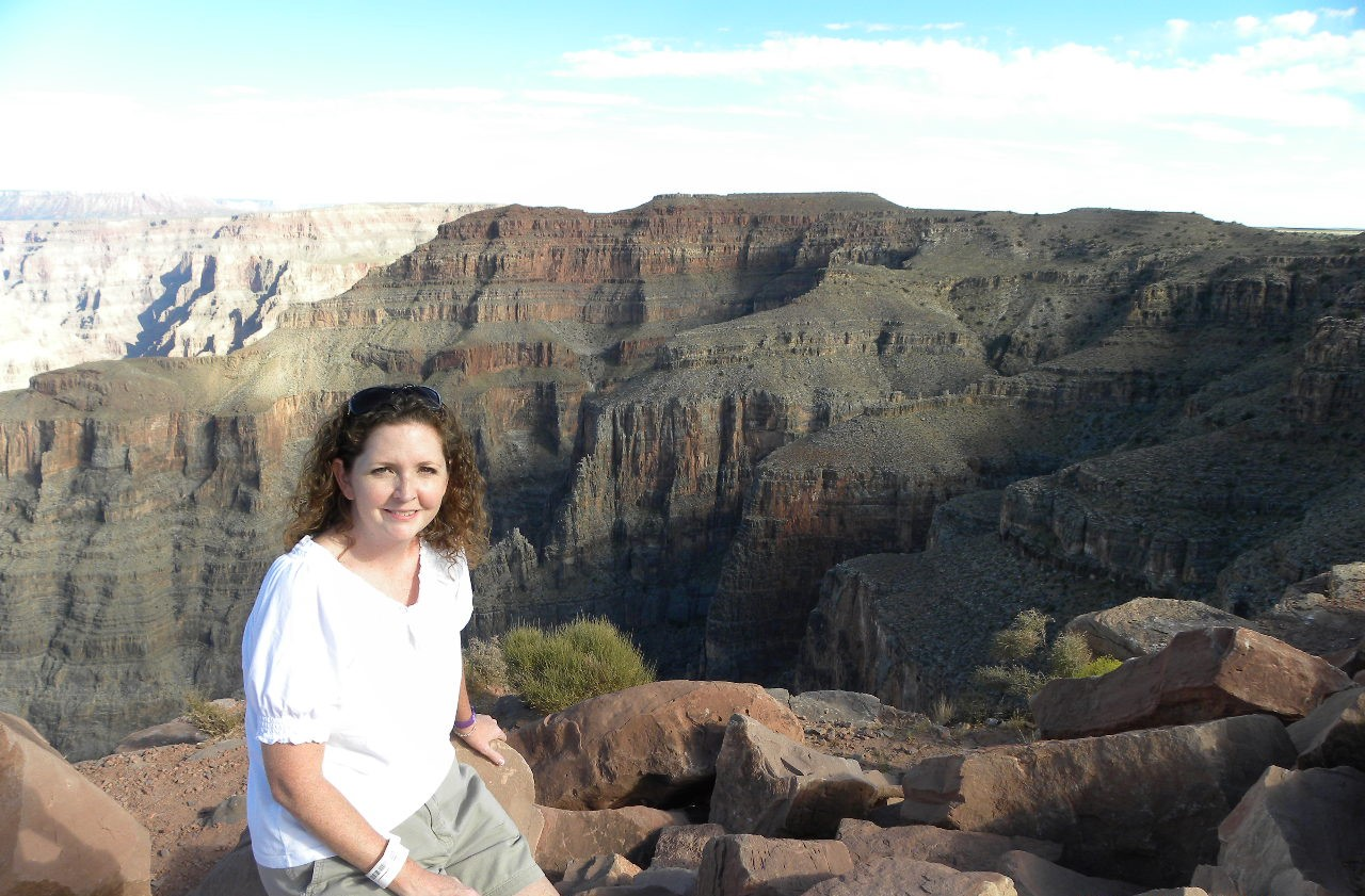 Kara Million of League City visited the Grand Canyon with her husband less than a year after surgery for cervical cancer.