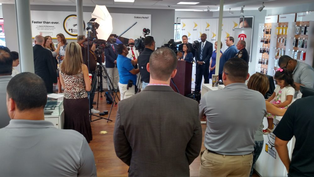 Crime Stoppers of Houston   and Sprint Launched The Cyber Safety Initiative