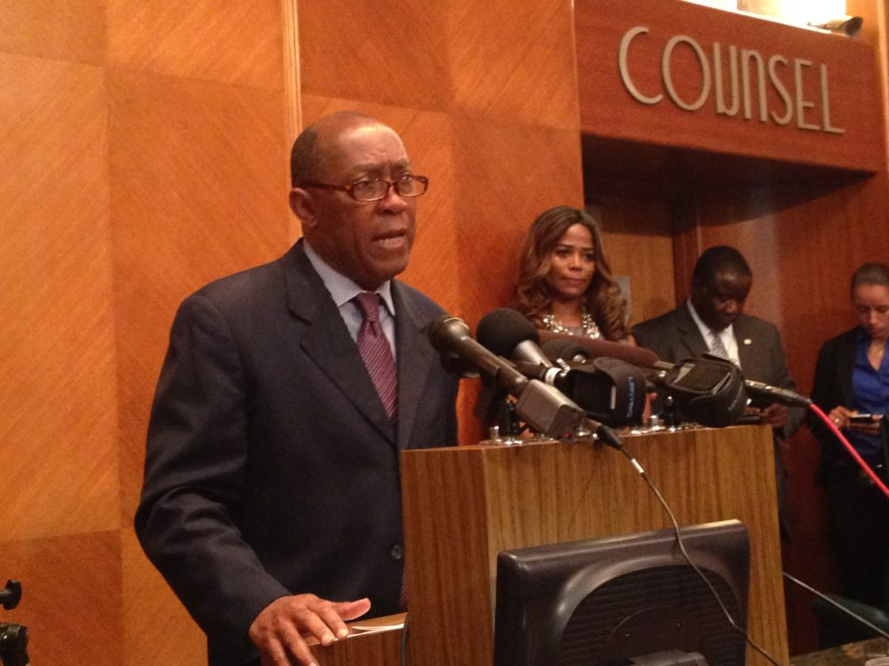 Houston Mayor Sylvester Turner says one of the things he wants to see in the study are suggestions about day to day operations in the City.