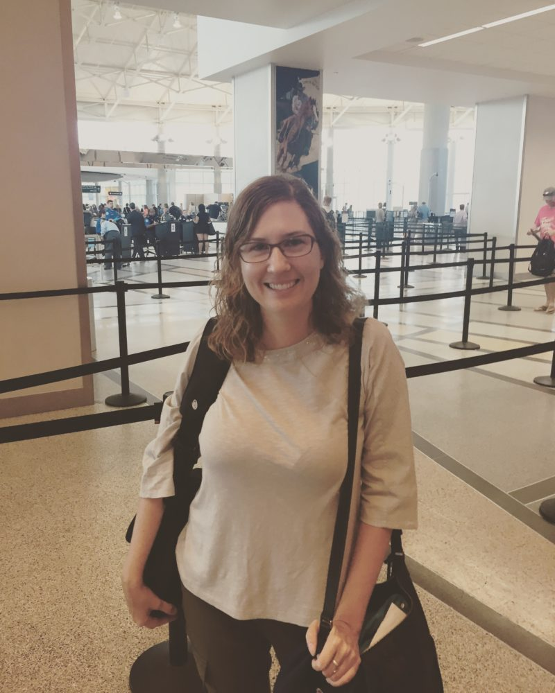 News 887's reporter Laura Isensee is ready to start her Pakistan adventure, begining with a stop in Washington D.C.
