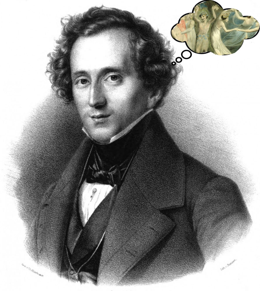 Mendelssohn dreams of Oberon and Titania