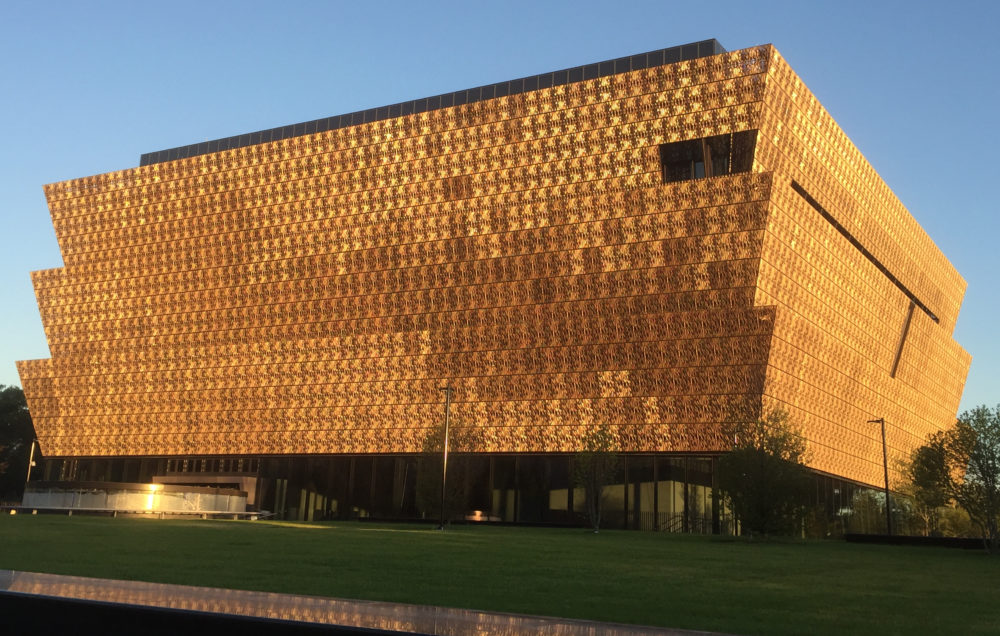 The National Museum of African-American History and Culture in Washington, D.C.