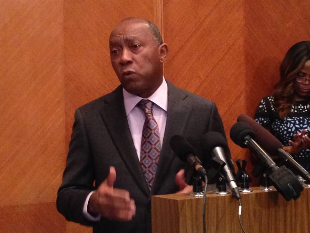 Houston Mayor Sylvester Turner wants to remove the revenue cap and says the latest cut to the property tax rate will only represent saving of 32 dollars for the average Houstonian.
