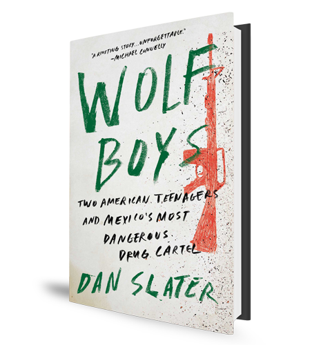 Wolf Boys - Dan Slater - Book Cover