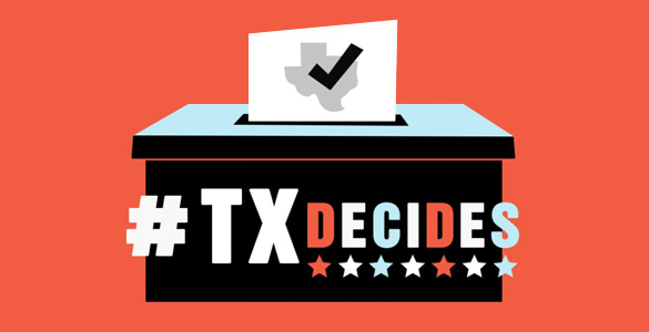 TXDecides Election Banner