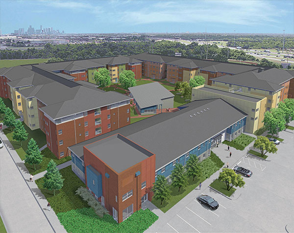 New Hope Housing at Reed - Courtesy NHH