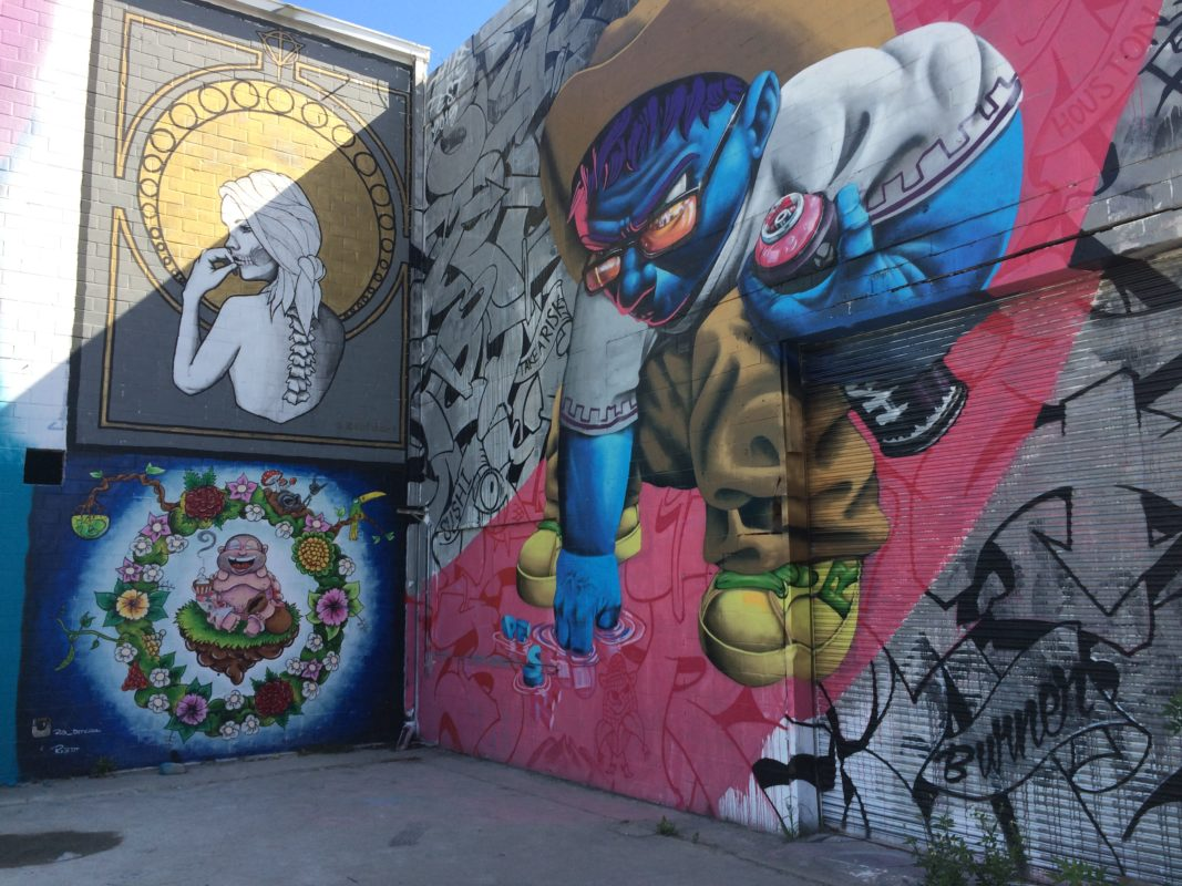 Houston Experiences A Surge In Graffiti This Week But It S All