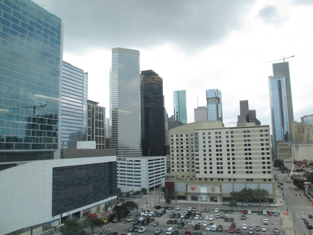 Photo of downtown Houston