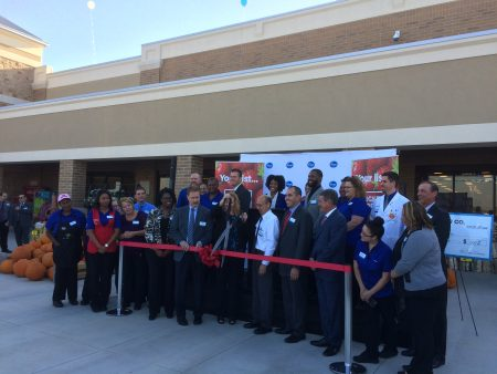 Photo of Kroger opening ceremony