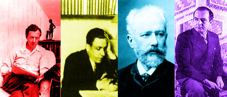 Britten, Poulenc, Tchaikovsky, and Barber