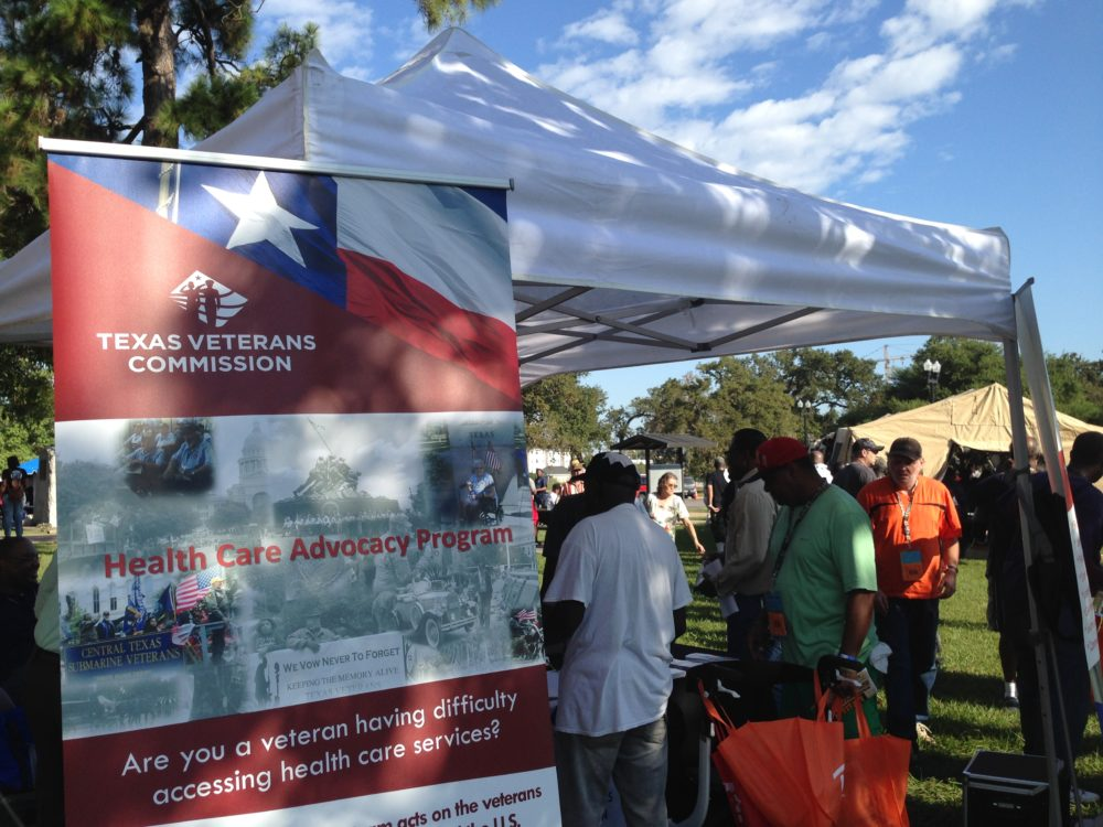 The Michael E. DeBakey VA Medical Center held its annual Stand Down event on October 7th, which provides information about a host of services for veterans, including housing programs for those who are homeless.