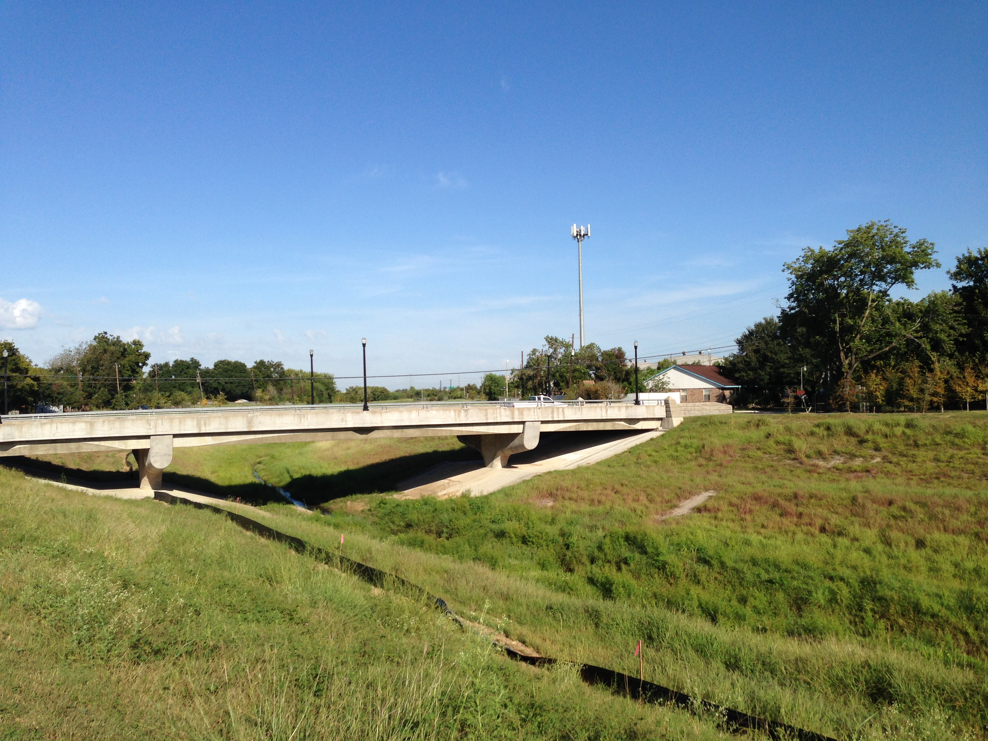 The Sims Bayou Greenway will be 1.8 miles long and will connect Heatherbrook Drive, in southwest Houston, with Hillcroft Avenue.