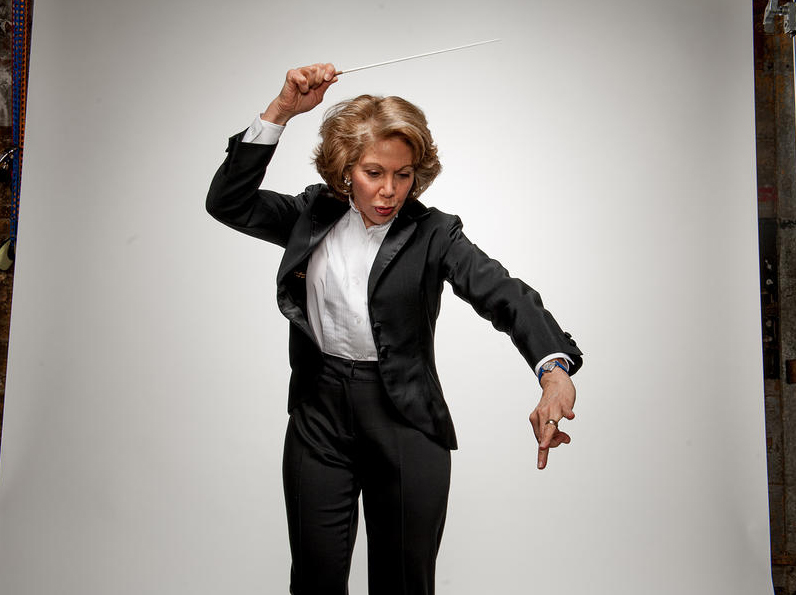 Composer and conductor Victoria Bond