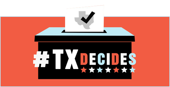 TXDecides Election Banner Popout