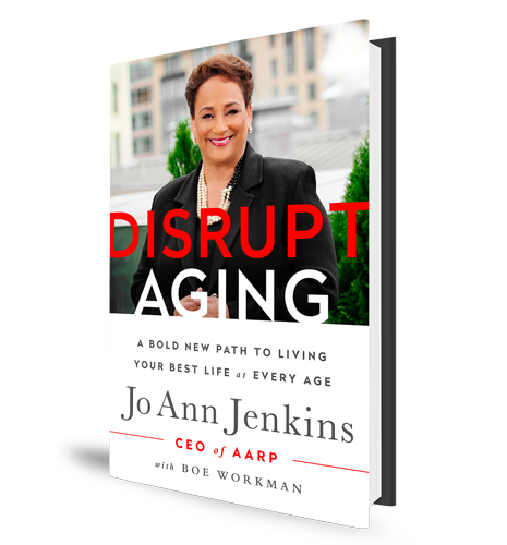 Disrupt Aging AARP Book Cover