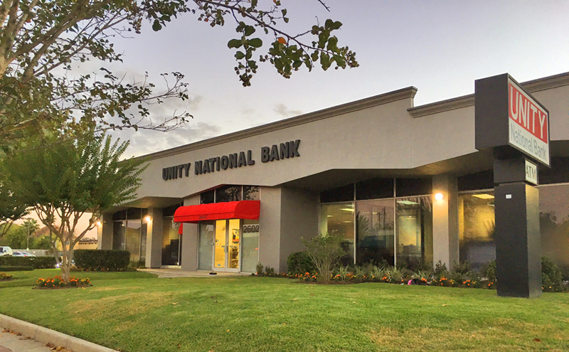 Houston's Unity National Bank. (Photo: Michael Hagerty, Houston Public Media)
