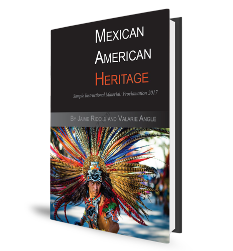 Mexican American Heritage Textbook Cover