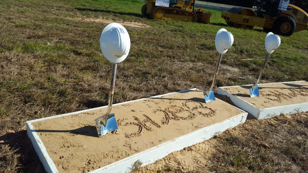 TxDOT held a ceremonial groundbreaking at 288 and the 610 South Loop
