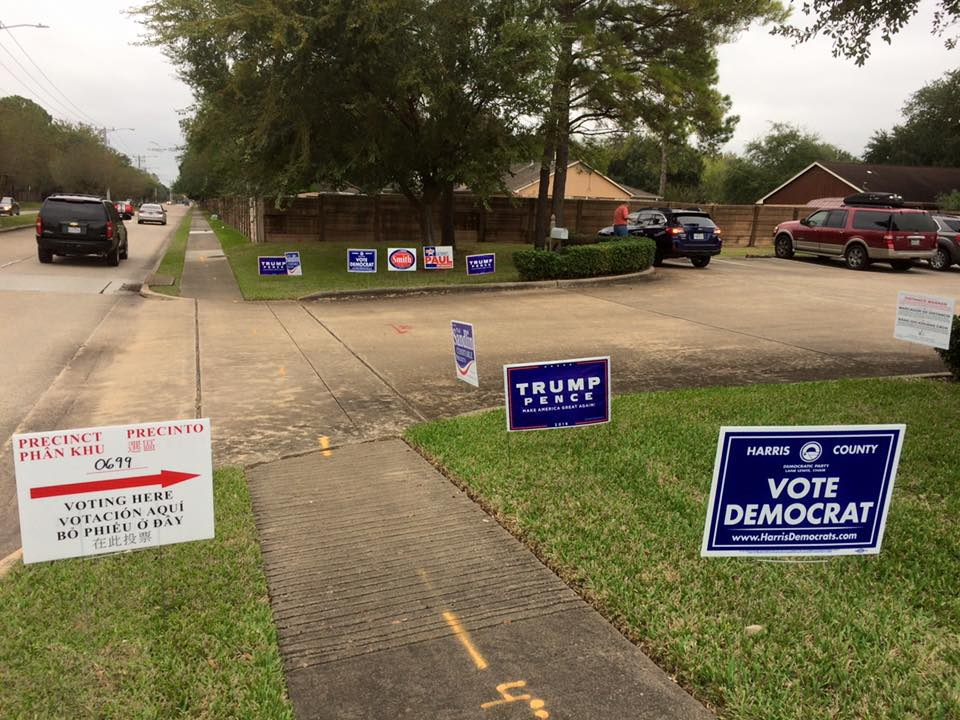 From polling location #699.