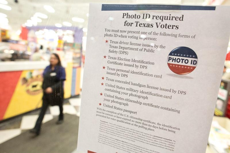 Voter ID materials have confused some voters in Texas during early voting, but Texas' secretary of state says the his office is toeing a fine line between providing clarity and adhering to court-ordered language.