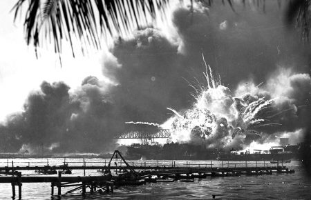 USS Shaw - Pearl Harbor Attack