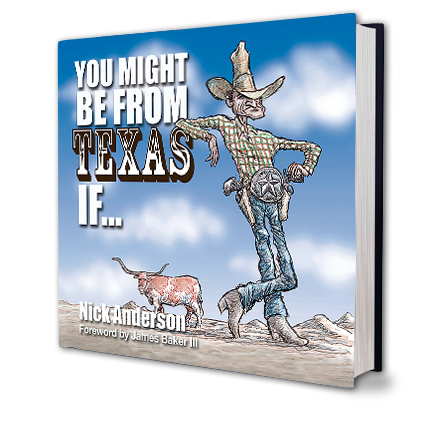 You Might Be From Texas Book Cover