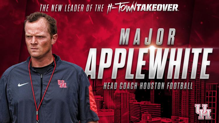 Major Applewhite its next head football coach