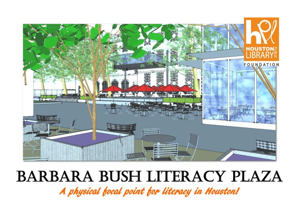 The renovation of the plaza means a total facelift that will include two reading gardens, a jumbo-sized viewing screen to project movies and hold visual events, as well as an art lawn for exhibits and a café bistro.