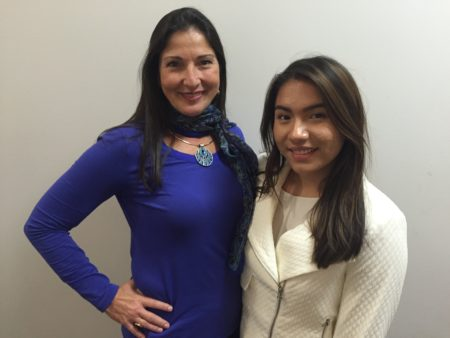 Both Maria Carlota Palacios and Eloisa Cortinas say that they've learned from each other as mentor and mentee in the year-long internship together.