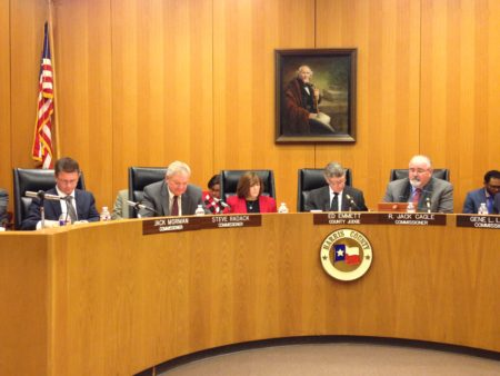 The Harris County Commissioners Court held its last meeting of 2016 on December 20th.