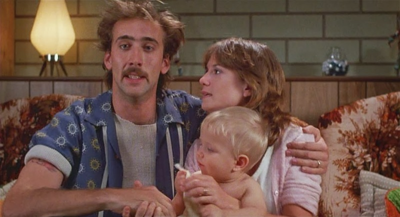 Still from Raising Arizona
