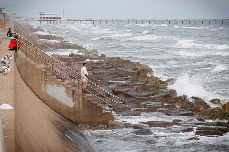 Ship Channel Seawall Galveston Ike Dike Hurricane - VLawhorn HPM