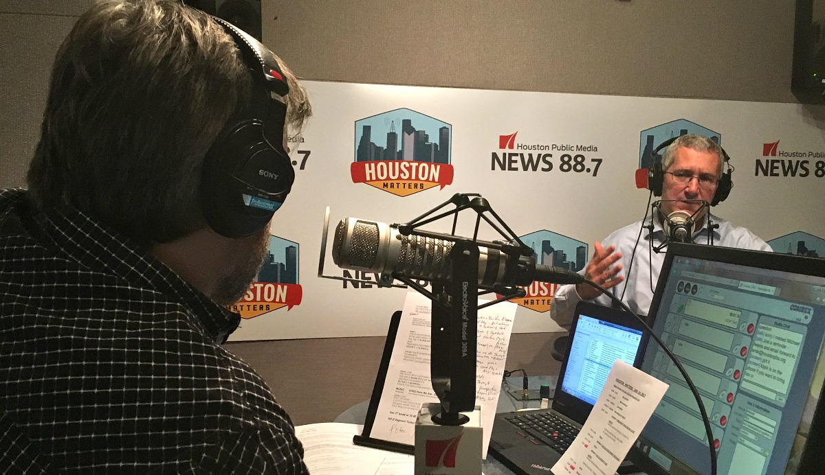 Peter Caldwall, a history professor at Rice University, talks with guest host Ernie Manouse on Jan. 24, 2017.