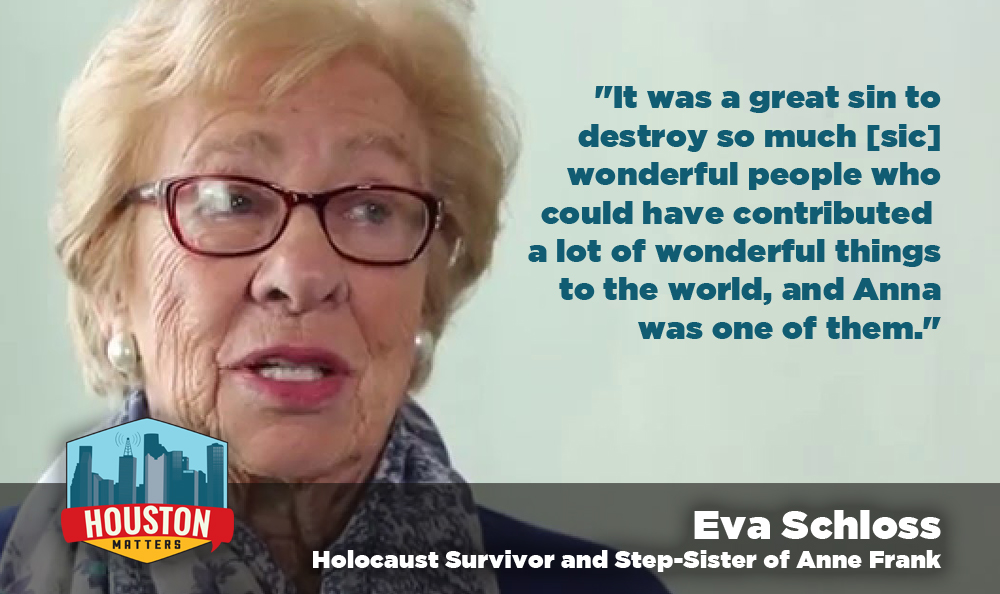 Holocaust survivor Eva Schloss. Image Courtesy: thelachatupdate.com via YouTube)