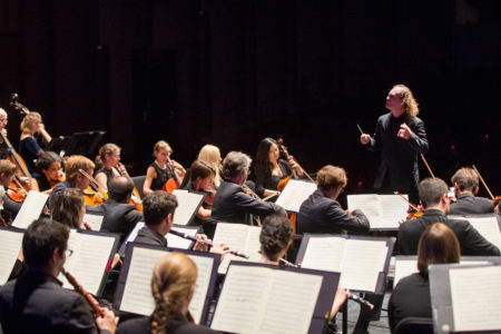 Mercury Chamber Orchestra performing Beethoven's Symphony No. 9 in D minor