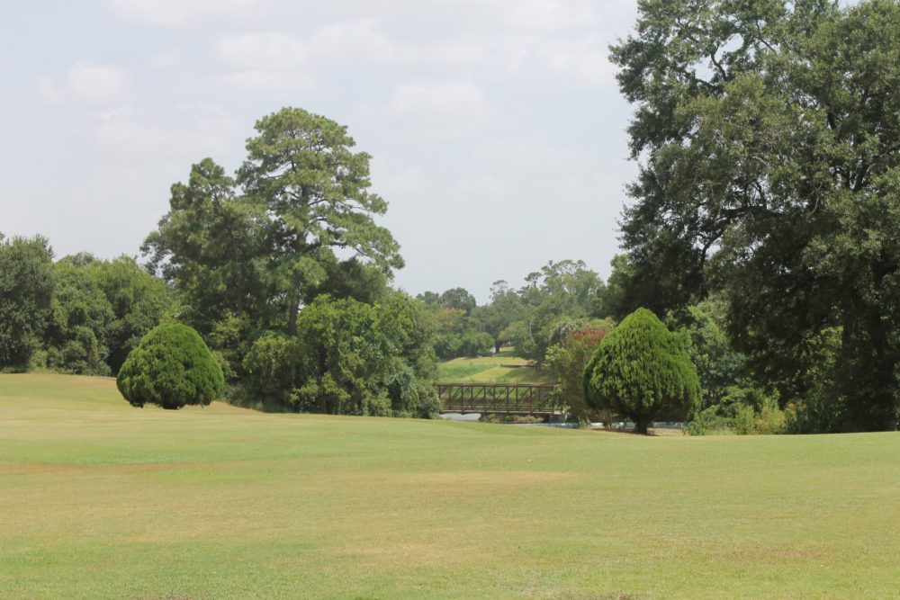 The Gus Wortham golf course is located in Houston's East End.