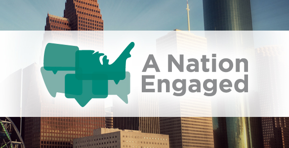 A Nation Engaged Banner Logo