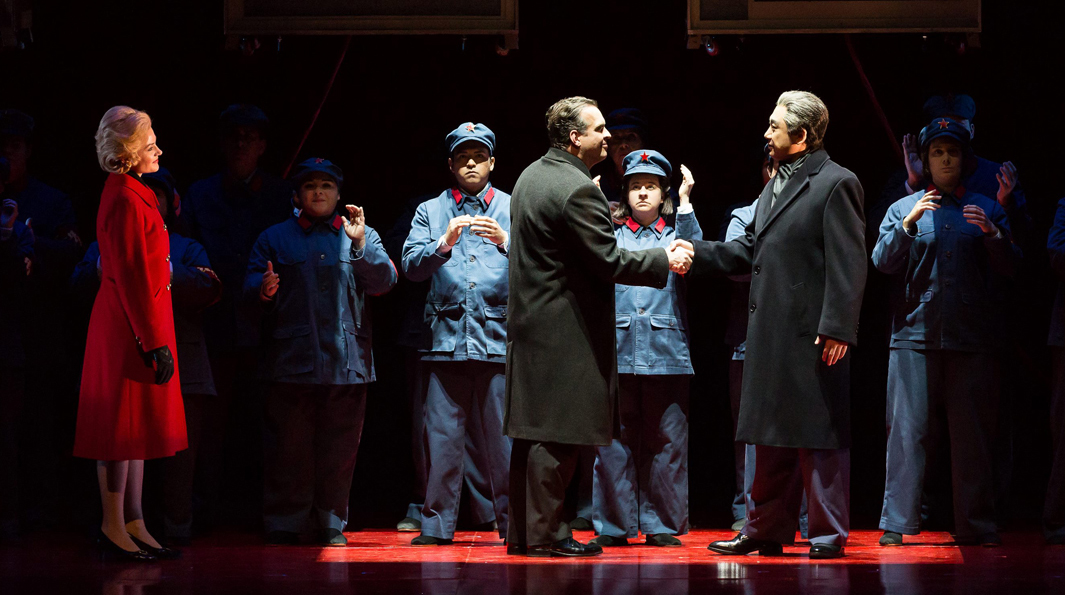 Nixon in China - Banner - Lynn Lane - Houston Grand Opera
