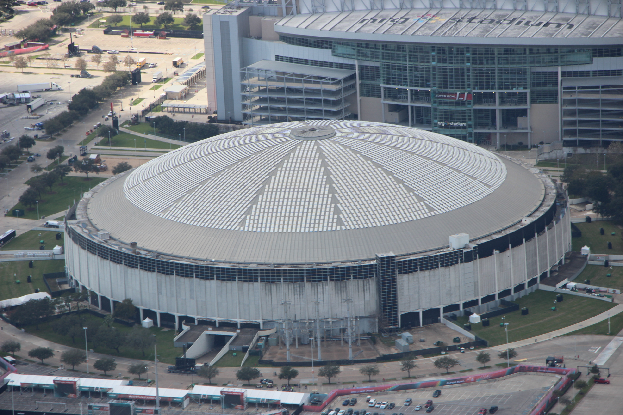 The county-owned Astrodome opened in 1965 but has been vacant for 19 years. It closed to all events in 2009.