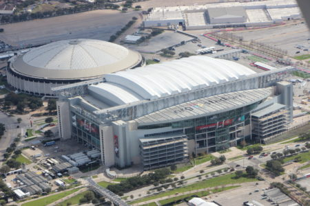 Photo of Reliant Stadium and Astrodome