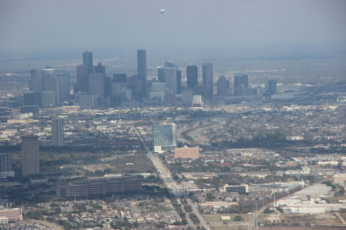 Photo of downtown Houston skyline