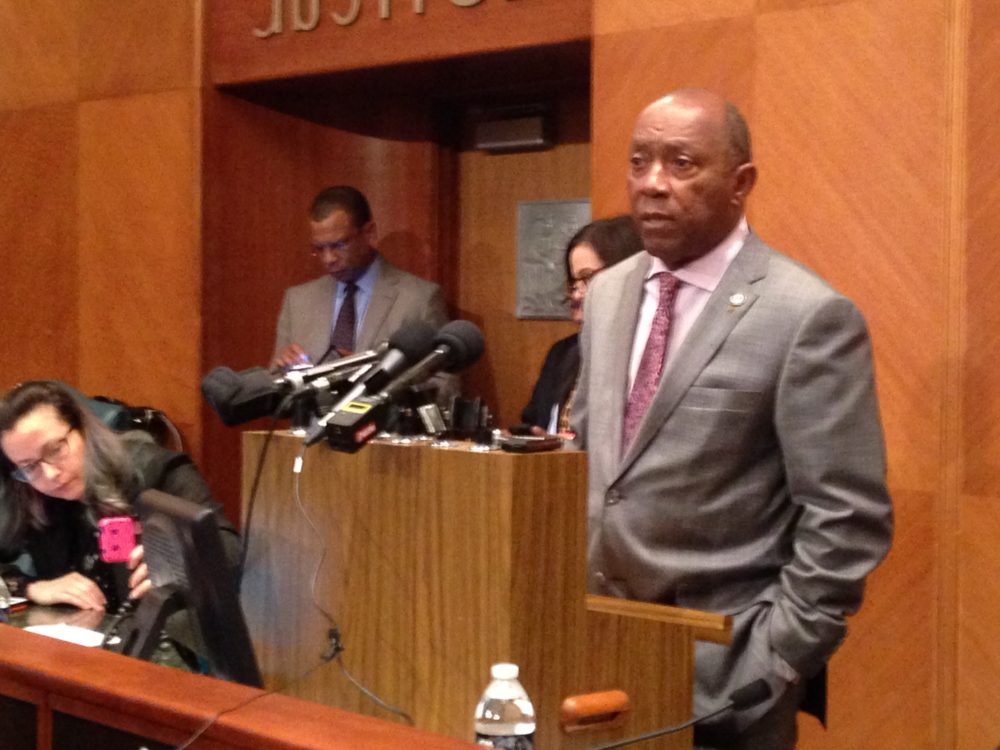 Houston Mayor Sylvester Turner says that, even if the pension reform bill were in danger of failing in the Texas Legislature, the City Council would know with enough time to adjust the budget for Fiscal Year 2018.