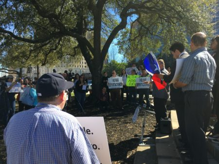 Rally Against SB 4